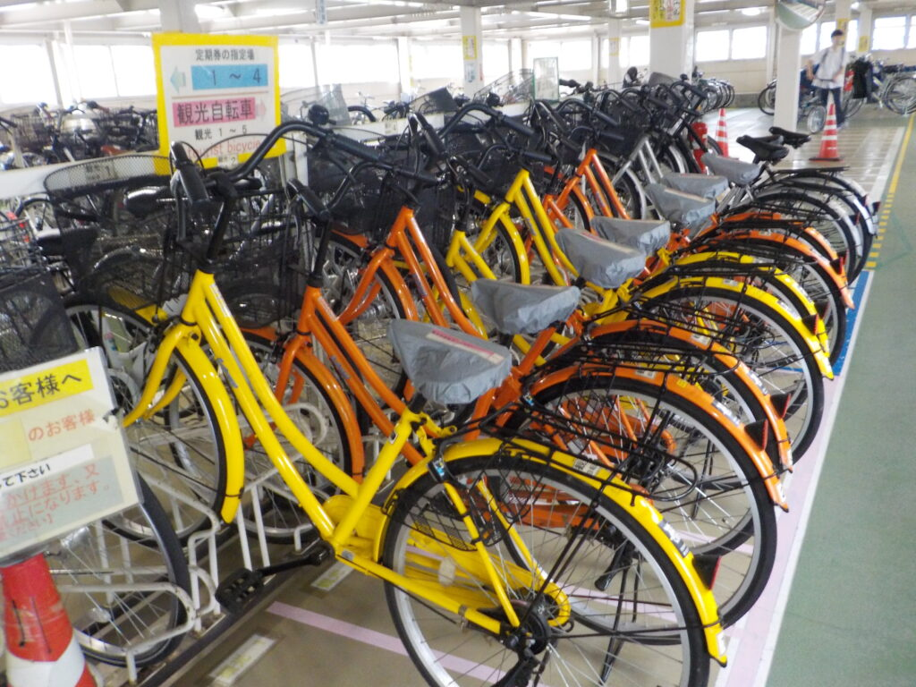 観光自転車利用再開について